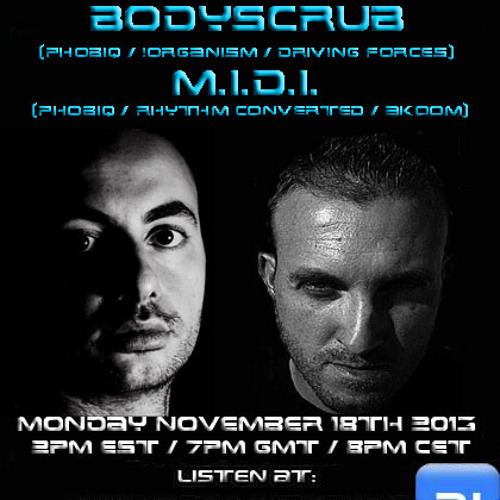 The Future Underground Show With Bodyscrub, M.I.D.I. And Nick Bowman
