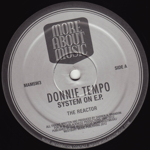 Donnie Tempo - TCB - MAMSW3