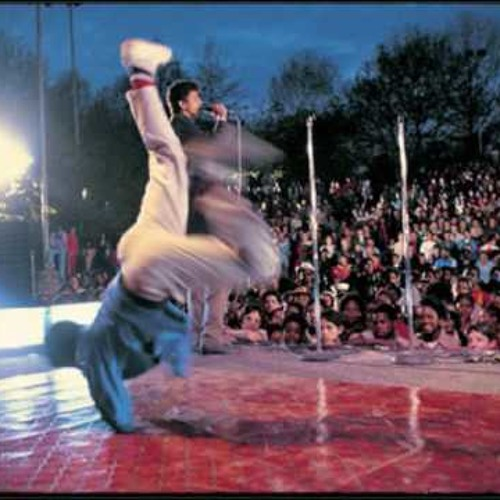 Rammellzee's Live Performance In The Film Wild Style (Not Vinyl Version)