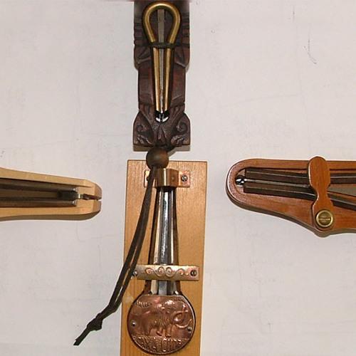Nemzetközi dorombok / Some Jew's harps of my collection
