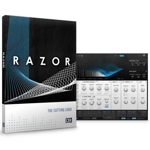 KOMPLETE > RAZOR 1.5 > 'Drums' demo