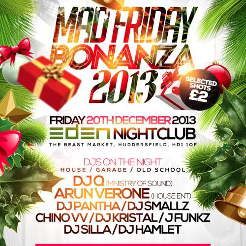 DJ Smallz Mad Friday Bonanza Promo Mix Friday 20th December 2013