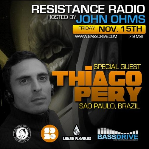 Resistance Radio Live Hosted By John Ohms W Special Guest Thiago Pery