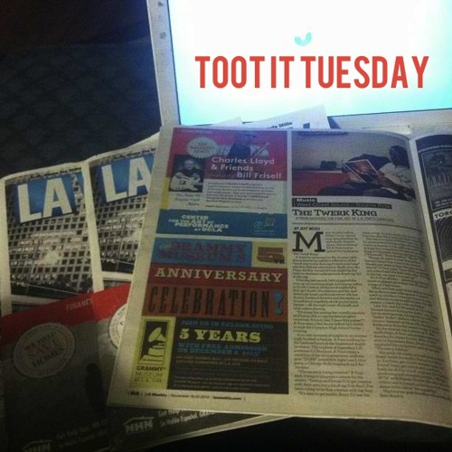 """""""Toot It"""" Tuesday mix"""