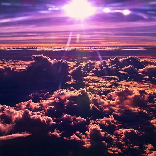 Purple Clouds Drifting
