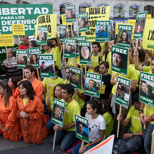 "As 17 of Arctic 30 Granted Bail, Greenpeace Chief Calls Fossil Fuel CEOs ""The Real Hooligans"""
