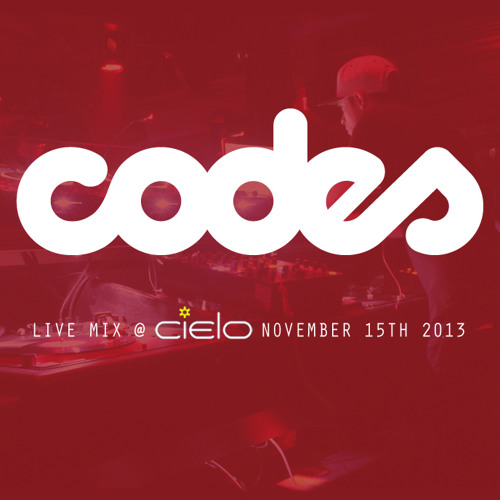 Codes Live At Cielo NYC November 15th 2013