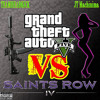 Grand Theft Auto V Versus Saints Row IV Rap Battle (Featuring JT Machinima)