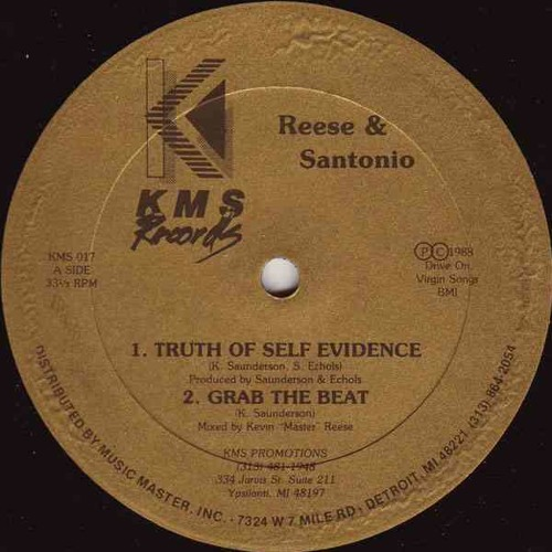 Reese & Santonio - Truth Of Self Evidence - My Story 002