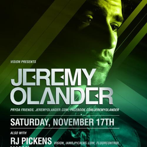 RJPickens - Live at Vision Chicago - 17Nov2012 (closer for Jeremy Olander, w/ mic'd crowd)