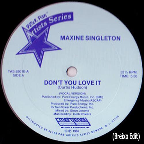 Maxine Singleton - Don't You Love It (Breixo Edit) Free Download