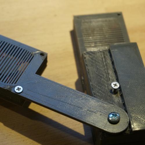 Dr. Piesik's pMic - a 3D-printable A-B stereo mic