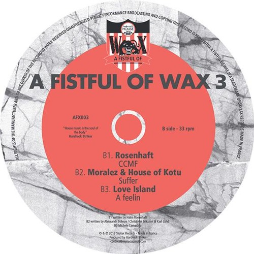 "A FISTFUL OF WAX 3 - B1.Rosenhaft ""CCMF"""