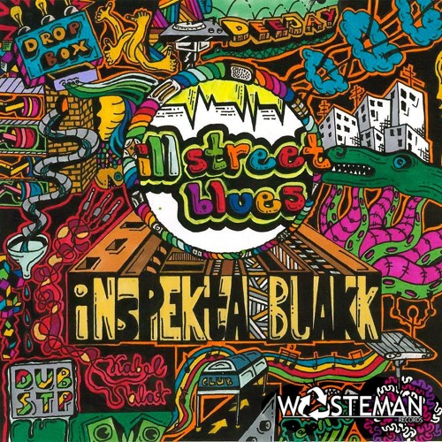 InspektaBlakk - ill Street Blues ft. Rus Silver CLIP (out now for free on WASTEMAN RECORDS)