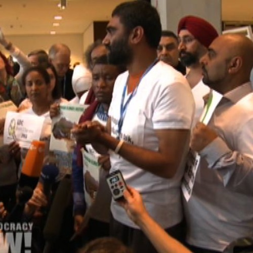 """""""Nature Does Not Negotiate"""": Environmentalists Walk Out of U.N. Climate Summit in Warsaw"""