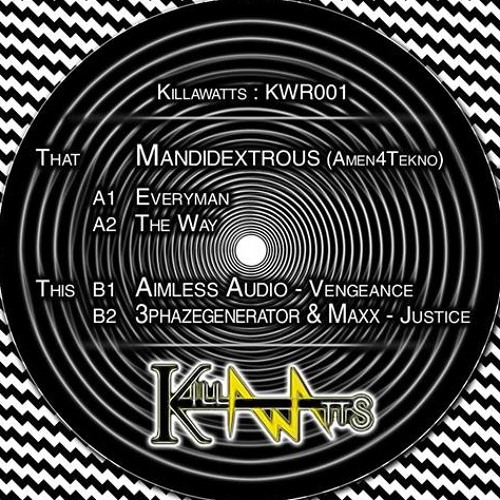 THE WAY !  OUT NOW ON VINYL WITH KILLAWATTS HIT THE BUY LINK