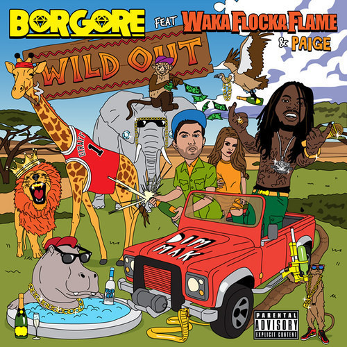 Borgore feat. Waka Flocka Flame & Paige - Wild Out (Riggi & Piros Remix) [DIM MAK] *OUT JAN 28TH*