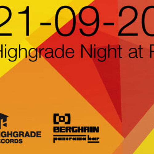 David Delgado @ Highgrade showcase September 2013 (Opening Set)