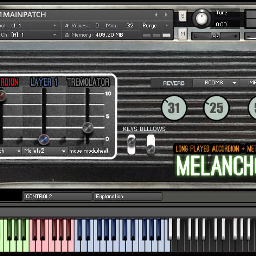 Melancholiademo - all sounds from melancholia