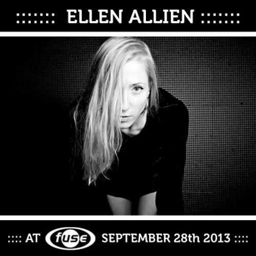 Ellen Allien - Fuse Brussels 28/09/2013
