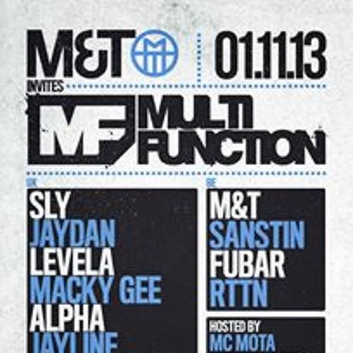 Levela with MCs Fatman D & Mota @ Multi Function Belgium / M&T