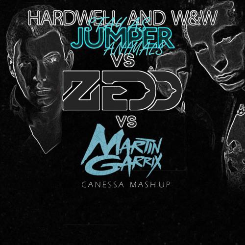 Hardwell & W&W vs Zedd vs Martin Garrix - Stay As Jumper Animals (CANESSA Mashup)