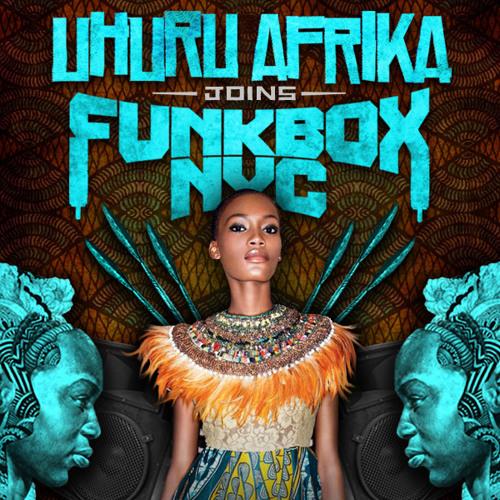 Uhuru Afrika Joins Funkbox : Live  Adam Gibbons/ Sidy Maiga