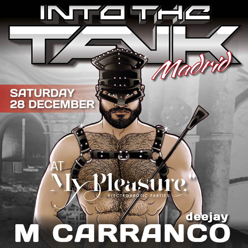 M Carranco @ INTO THE TANK Madrid - December 2013