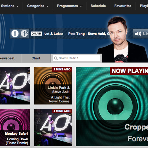 Cropper - Forever [Pete Tong - Radio 1 rip 96kbps] OUT NOW