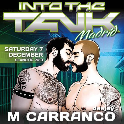 M Carranco @ INTO THE TANK Madrid - Diciembre 2013