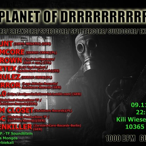 PRESSTERROR Mix@9.11.2013 - PLANET OF DRRRRRRRRRR (BERLIN-GER)