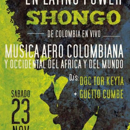 Shongo de Colombia en vivo en Latino Power 23 de Nov 2013