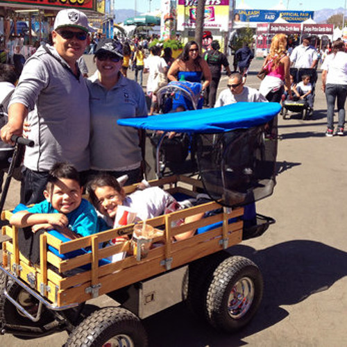 More Kids Roll in Style in Giant Wagons