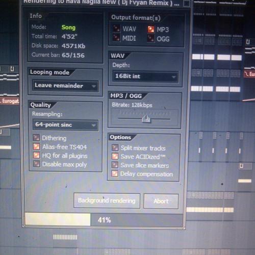 Hava Nagila New ( Dj Fvyan Remix ) Preview
