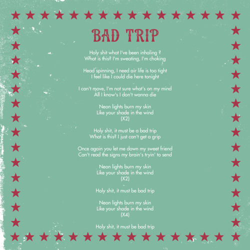 What Does A Bad Trip Feel Like
