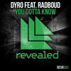 Dyro feat. Radboud - You Gotta Know (OUT NOW!)
