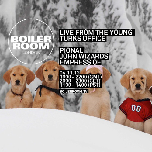 Pional live in the Boiler Room