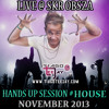 Tiago Teejay - Live @SKR Obsza - Hands Up Session #House (November 2013)