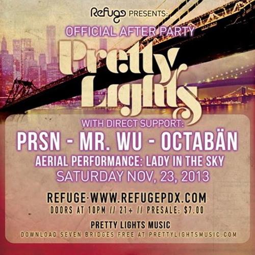 OCTABÄN LIVE @ Refuge - Pretty Lights After Party -