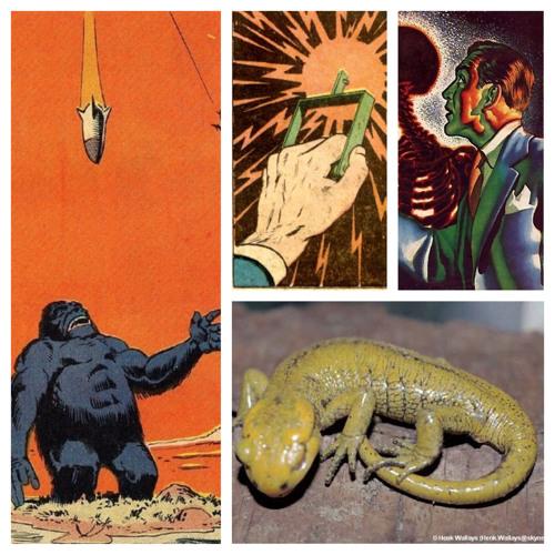 Yellow Salamand'r 4 - The Alien Tapes (Superhero Edit)