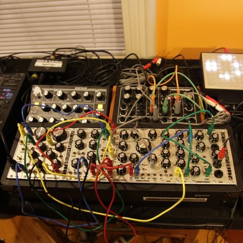 Live analog sequence improvisation 11.25.13