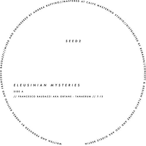ACSeed2 - Francesco Baudazzi aka Obtane - Eleusinian Mysteries (nAX_Acid Hades Way Remix)