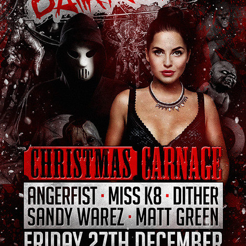 Twisted's Darkside Podcast 162 - Code:Red - Darkside Christmas Carnage WarmUp #1