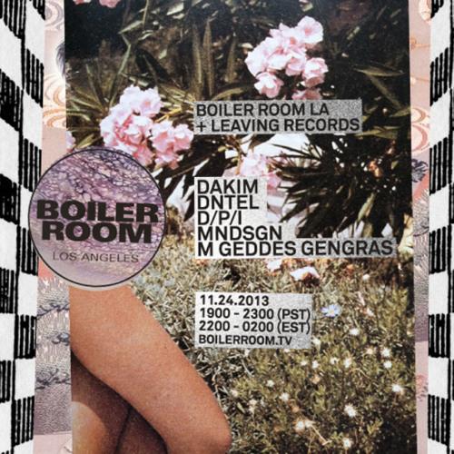 DNTEL 25 min Boiler Room LIVE Set