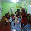 Kandyan dancing lessons, Eagle House, Hikkaduwa
