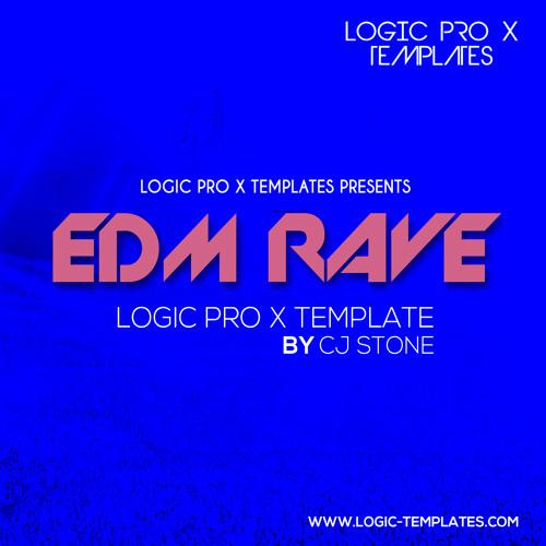 EDM Rave Logic Pro X Template