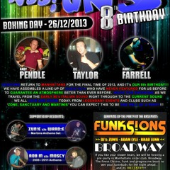 SESS!ONS 8th Birthday - Boxing Day 2013 @ Manhattans Nightclub - PROMO MIX by DJ ANDY PENDLE