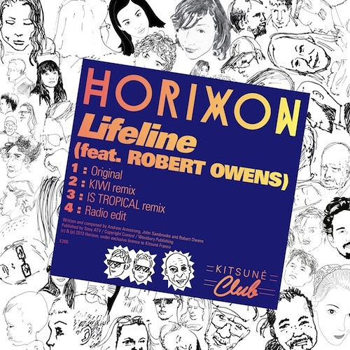 "Horixon - ""Lifeline"" (feat. Robert Owens) (Is Tropical Remix)"