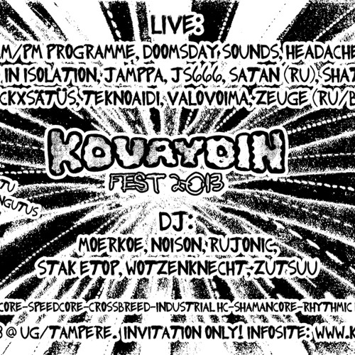 Jamppa - Live @ Kovaydin Fest 2013 (22.11.2013)