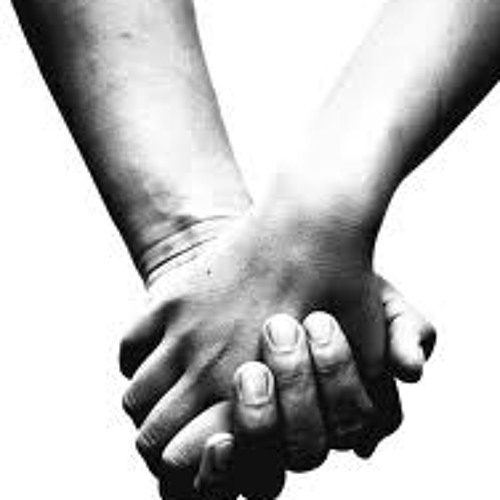 Holding Hands by Wheat Bailey
